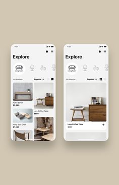 HomeCraft App UI Kit is a pack of delicate UI design screen templates that will help you to design clear user interfaces for ecommerce shopping apps faster and easier. Compatible with Sketch App, Figma & Adobe XD Dashboard Design, Ui Ux Design, Dashboard Ui, Application Ui Design, Design Shop, Layout Design, Design Responsive, Site Design, Flat Design
