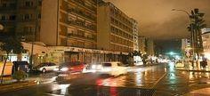 El temporal provoca apagones en pueblos y barriadas de Málaga