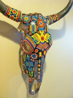 RESERVED for JAN Vintage Huichol Beaded by smartysfunstuff