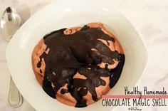 Healthy Homemade Chocolate Magic Shell | Vegan | Paleo | Healthy Dessert | Gluten Free | Soy Free | Ice Cream Toppings | Healthy Dessert Recipe | Nice Cream