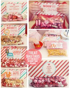 cute diy valentine ideas valentine treat bag tags 15 off code to printables - Homemade Valentine Treats