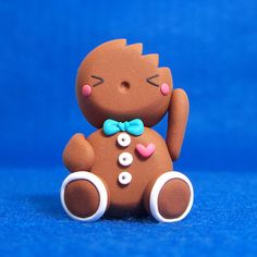 Gingerbread man with a bite out of him