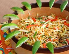 Coleslaw with Cumin-Lime