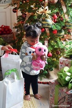 Mommy Hacks: Surviving Christmas with Toddlers - Ariah Tamera Mowry