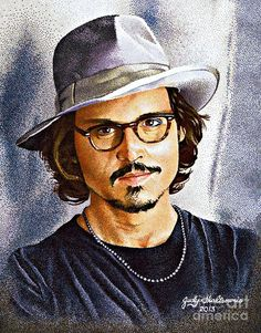 Johnny Depp by Judy Skaltsounis
