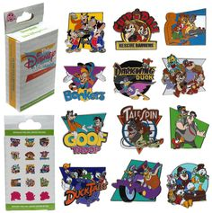 I LOVE DISNEY AFTERNOON  New Disney Afternoon Pin Set