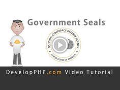 Government Seal Logo Graphic Design Fireworks Tutorial