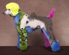 """Creative Dog Grooming""  poor thing! but... in case we have a poodle..."