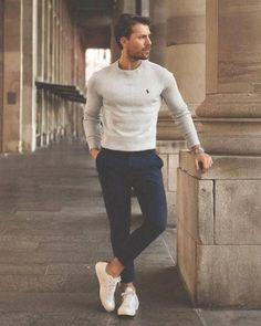 stylish mens style casual inspiration ideas 42 - Although most of us . - stylish mens style casual inspiration ideas 42 – Although most of us as men seem to be carele - Stylish Men, Men Casual, Casual Menswear, Smart Casual Black Jeans, Casual Fall, Casual Chic, Men's Business Outfits, Mens Business Casual Shoes, Mode Man