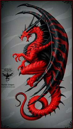 Master dragon, Christos Karapanos - let yourself be fooled! - Master dragon, Christos Karapanos – let yourself be fooled! Celtic Dragon Tattoos, Dragon Tattoo Designs, Dragon Tattoo Colour, Black Dragon Tattoo, Logo Dragon, Tribal Dragon Tattoos, Wing Tattoos, Dragon Images, Dragon Pictures