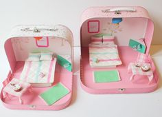 Looking for new and creative ways to use our beautiful prints? Check out Little Button Diaries' suitcase dolls house - it's adorable and so easy to make...