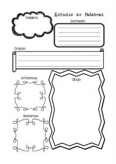 Organizador Estudio de Palabras | Scribd