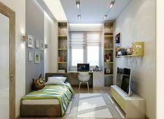 Petite chambre d'enfant dans un appartement citadin