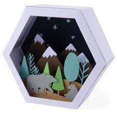 """2019 /""""Forest Friends/"""" A5 Desk Calendar Cute Forest Animal Spiral Flip Calendar"""
