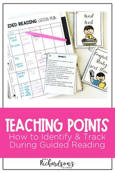 Learning how to identify a teaching point in your guided reading lesson doesn't have to be hard! If you are a kindergarten, first, or second grade teacher, find out how to find a teaching point to improve phonemic awareness, reading comprehension, and fluency. You don't want to miss out on this tutorial for your small groups!