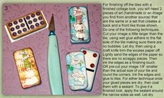 It's All About Me & Mine: Domino Mini Book - A little tutorial created for one of my Yahoo Groips.