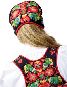 Folk Costume, Costumes, Norway, Hats, Clothes, Fashion, Headdress, Kunst, Outfit