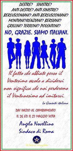 Grazie siamo italiani | ITALIA REALE - Stella e Corona