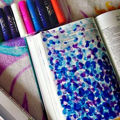 Kwik Stix for Bible Art Journaling! | Running With Spears #illustratedfaith #bibleart