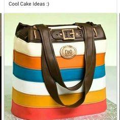 D&G purse cake