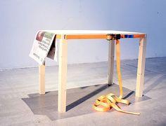 Marcin Pogorzelski,  belTable, furniture, green furniture, modern furniture, weird furniture, minimalist furniture