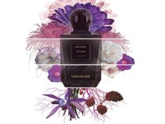 JOHANA the perfume of Keiko Mecheri opens onto an elegant bouquet of powder of chrysanthemums japanese refreshed by the green of onycha and reveals a heart valuable by mixing a bouquet floral female of pink, mauve and iris contrasted by a touch of cocoa. The composition is sensual and decided.
