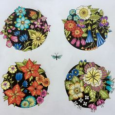 Take a peek at this great artwork on Johanna Basford's Colouring Gallery! Magical Jungle Johanna Basford, Coloring Books, Coloring Pages, Flower Drawing Tutorials, Joanna Basford, Johanna Basford Coloring Book, Colored Pencil Techniques, Cute Paintings, Colouring Techniques
