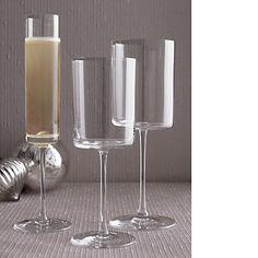EdgeStemware Wine and champagne. #gossipgirl