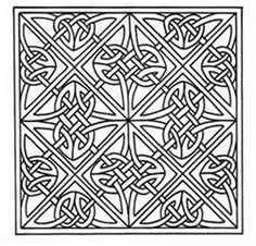 Celtic embroidery design - 12 on this page = small