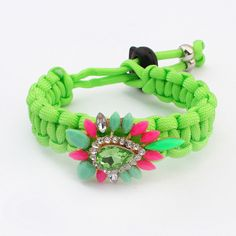 2014 New Bracelets Free Shipping European  American Ethnic Handmade Rope Bracelets for Women Colorful Woven Bracelet Wholesale $5.08