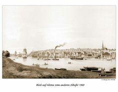 Historische Ansichten von St. Pauli und anderen Vororten