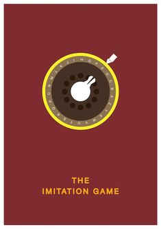 The Imitation Game (2014) minimalist movie poster on Behance