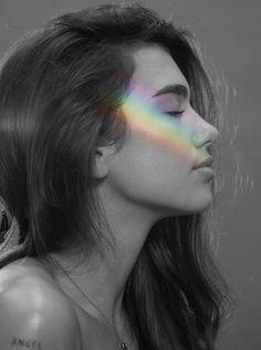 Dua Lipa My Dua, Rainbow Aesthetic, Foto Instagram, People Photography, Female Singers, Celebs, Photoshoot, Black And White, Face