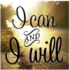 I CAN AND I WILL.  #BiggestLoser #Motivation