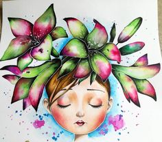 "248 Likes, 11 Comments - Marcela Lašáková (@marcelalasakova) on Instagram: ""#coloriagewild #emmanuellecolin #colorinthebest #coloringbook #anilinky #kohinoor #ecoline…"""