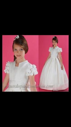 First communion dress--(so cute, but link doesn't show price--could be made-L)