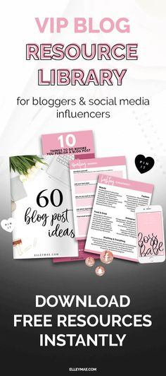 Ready to grow your blog, skyrocket your Instagram & gain followers like you've never done before?! Join the FREE VIP Resource Library today & get instant access to free blog templates, Instagram captions, hashtag cheatsheets, blog post ideas, free blog ebooks, free iPhone wallpapers, free social media icons, free blog graphics & loads, loads more! Use these free templates to grow your blog & start making money online. It's easier than you think! Download Free Resources Instantly at…