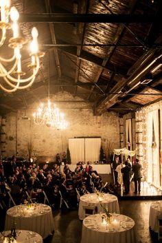 Glacier Park Weddings on the road for a Brooklyn Wedding | Photo by @Brooke Fitts | @Green Building | @Elizabeth Kalin