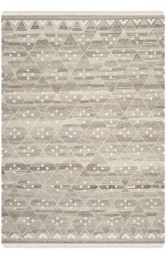 $5 Off when you share! Safavieh Natural Kilim NKM316A Brown Ivory Rug #RugsUSA