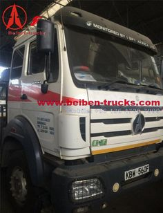 beiben right hand drive 2538 tractor truck for kenya customer