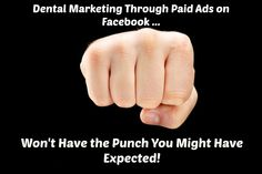 """Much to everyone's chagrin, Facebook has made some changes. It seems like just a few months ago the people at Facebook divulged that businesses would not be receiving anymore """"free"""" organic Facebook traffic, as Facebook would be focusing on making businesses pay for advertisements in order to show up in a lot of Facebook feeds. I've been waiting for some evidence to pop up that would prove paying for ads on Facebook is not worth your dental marketing dollars, and finally it has arrived. Marketing Tools, Content Marketing, Make Business, Dental, Waiting, Organic, Ads, Facebook, People"""