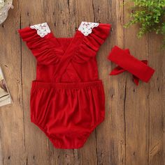 d2fa52e17 2 Piece Holiday New Onesie with Headband | CHILDREN'S CLOTHING/SHOES ...