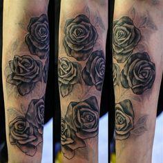 #roses #blackandgrey #tattoo