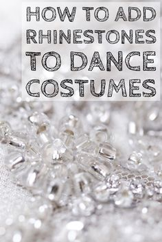 Looking to add some pop to your students' dance costumes? Check out these tips on how to apply rhinestone designs for some show-stopping outfits.