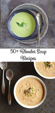 Explore over 50 free Blender Soup Recipes - Blender - Ideas of Blender Vitamix Soup Recipes, Ninja Blender Recipes, Ninja Recipes, Pureed Food Recipes, Cooking Recipes, Healthy Recipes, Immersion Blender Recipes, Smoothie Recipes, Bariatric Recipes