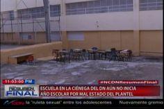 Escuela de la cienaga aún no inicia sus clases por las horribles condiciones en…