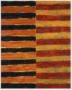 Sean Scully  1983  Oil on linen  60 x 48 in (152.4 x 121.9 cm)