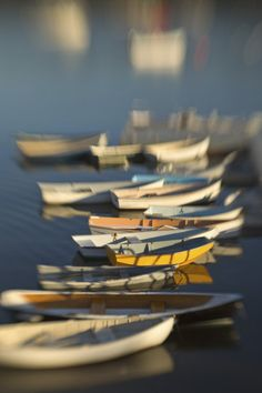 Lensbaby photo of rowboats by TonySweet.com #lensbaby #seeinanewway