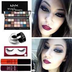 Maquiagem de Halloween da Beatriz, do Beauty Team da NYX ABC