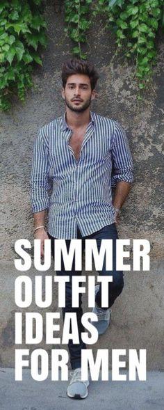 SUMMER OUTFIT IDEAS FOR MEN #mensfashion #fallfashion #streetstyle